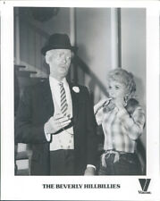 BEVERLY HILLBILLIES BUDDY EBSEN DONNA DOUGLAS PHOTO TV