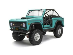 Axial SCX10 III Early Ford Bronco 4WD Rock Crawler Turquoise Blue AXI03014T1 New