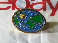 Vintage RARE Schenker McDonalds Logistics Company Affiliate Button Brooch Pin