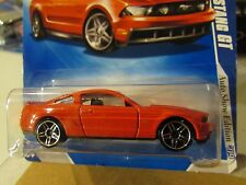 Hot Wheels 2010 Ford Mustang GT Auto Show Edition Red