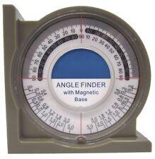 Buscador de ángulo con base magnética medida/indicador De Nivel De Taller Garaje Herramienta LV042