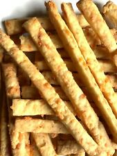Homemade Cheese Straws - Mature Cheddar Cheese With Mustard