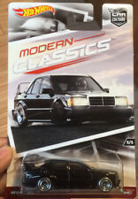 HOT WHEELS CAR CULTURE MODERN CLASSICS MERCEDES BENZ 190E EVO II BLACK