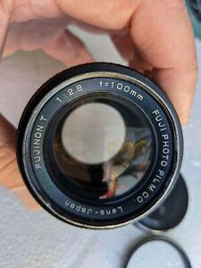 FUJI PHOTO FILM EBC FUJINON T 100mm F/2.8 M42 mount