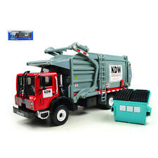 Red 1/43 Engineering Material Transporter Garbage Truck Diecast Model 1:43 MINT