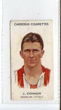 (Jc4959-100)  CARRERAS,FOOTBALLERS (LARGE),J.CONNER,SUNDERLAND,1934,#47
