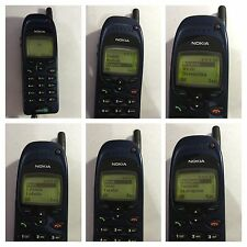 CELLULARE NOKIA 6150 SAT GSM BLUE NSM-1NY CAR UNLOCKED SIM FREE DEBLOQUE