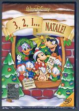 3, 2, 1, E' è NATALE DISNEY Z3 DV 0085 DVD DISNEY OLOGRAMMA TONDO SIGILLATO!!!