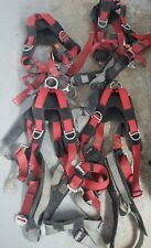Lot of 4 Med/LG Safety Harness Protecta Roofing Company Liquidation Retrieval