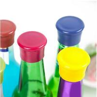 1pc Silicone Wine Stoppers Leak Free Wine Bottle Sealers for Beer Bottle Cap Bar