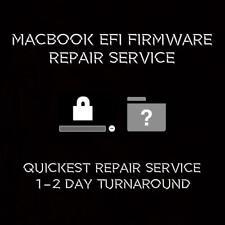 MacBook EFI iCloud Firmware Repair Service