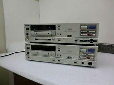 "Qty Lot (2) Panasonic SV-3900 Professional Digital Audio Tape Decks ""AS IS"""