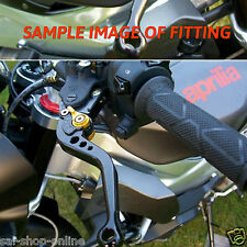Silver Black Long Adjustable Brake Clutch Levers for AVENGER / Honda CBR 250