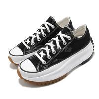 Converse Run Star Hike Low OX Black Gum Men Women Unisex Casual Shoes 168816C