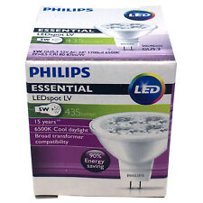 Philips 5W MR16 Essential LED 6500K Lamp Spotlight 12V Bulb GU5.3 = 50W Halogen