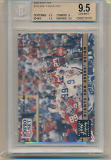 1991 Pro Set Football 1990 Replay (Matt Bahr) (#342) (Subs 3-9.5's/1-9) BGS9.5