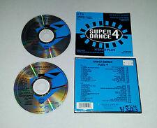 2 CD  Super Dance Plus 4  DJ Bobo 2 Unlimited  30.Tracks  1993  03/16