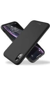 JETech Case Cover for Apple iPhone 6s Plus/6 Plus. Black. Hard Flexible.