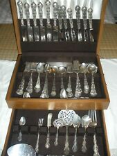 New listing Strasbourg Gorham Sterling - 94 Pieces Total (26 pieces Pat 1897)