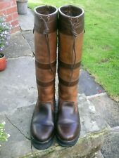 Dubarry Galway Gore-tex Lined Country Boots Size UK 6.5 Reg Fit. Require Repair