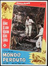 CINEMA-fotobusta MONDO PERDUTO f. lamas, I. ALLEN