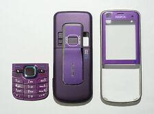 purple faceplate Housing Cover fascia case for Nokia 6220 classic 6220C   --0000