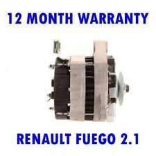 RENAULT FUEGO 2.1 1982 1983 1984 1985 REMANUFACTURED ALTERNATOR