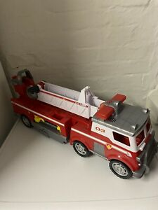 Paw Patrol Ultimate Marshall Fire Truck Engine With Lights And Sounds