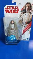 Star wars 3.75 luke skywalker Action Figure Hasbro Force Link
