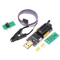CH341A Brennerchip USB Programmer Writer SOP Clip Adapter EEPROM BIOS FLASH