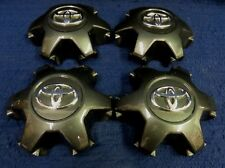 TOYOTA TACOMA 16-17 DARK GRAY / CHARCOAL CENTER CAPS -SET OF 4 - OEM