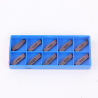 10PCS MGMN300-M PC9030 3mm Carbide Insert for MGEHR/MGIVR Grooving Cut-off Tool