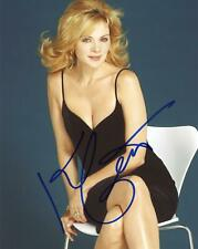 """Kim Cattrall """"Sex and the City"""" AUTOGRAPH Signed 8x10 Photo B ACOA"""