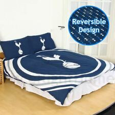 Tottenham Hotspur FC Pulse Double Duvet Cover Set Football Bedding 2 in 1 Design