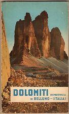 Dolomiti in provincia di Belluno: itinerari, località, rifugi alpini