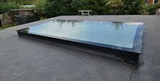 Rooflight Flat Roof Double Glazed 2000mm X 1000mm Skylight Stepped Unit