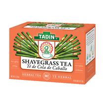 TADIN SHAVE GRASS HERBAL TEA -2 BOXES  - TE DE COLA DE CABALLO