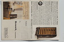18993 Reklame AK Roll Jalousien Schrank NK Ekawerk Leipzig um 1940
