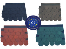 Fishscale Roof Felt Shingles for log cabins, sheds, etc..Deliveries available