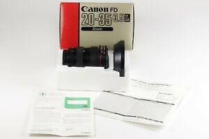 Canon Lens FD 20-35 mm 1:3,5 L in OVP Dif18645 AVS17694 CA8