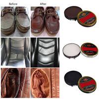 Water Resistence Leather Shoes Polish Shine Wax Nourish Gloss Paste w/Iron Box