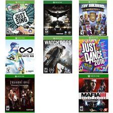 New Original OEM Authentic Genuine Microsoft Xbox One Games Sealed - Many Titles