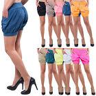 Women's Hot Pants Pump HAREM Aladdin Summer Trousers Bermuda Shorts D-38