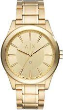 Men's Armani Exchange Diamond Accent Gold Tone Steel Watch AX2327