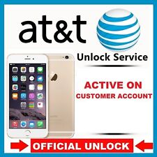 UNLOCK SERVICE Active on Another ATT Account  IPHONE 4 4s 5 5S 6 6s 7 8 SE X
