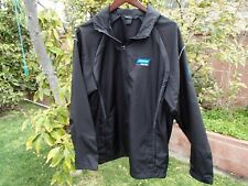 Norton Abrasives Windbreaker Jacket Men's Large Black