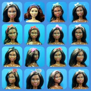 Barbie Fashionistas Set 16 Choose Pick 1 Color Hair Head Band Bow for 1/6 Doll