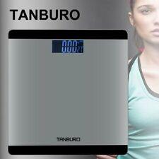 Digitale Körperwaage Personenwage Fitnesswaage Gewicht Waage LCD Display 180kg