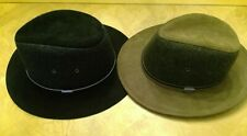 ^ Stetson Mens Safari Fedora Trilby Hat, Black, Size XL New with Tags Free Ship!