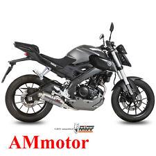 Escape Completo Mivv Yamaha Mt-125 2015 15 Moto Silenciador Gp Titanium